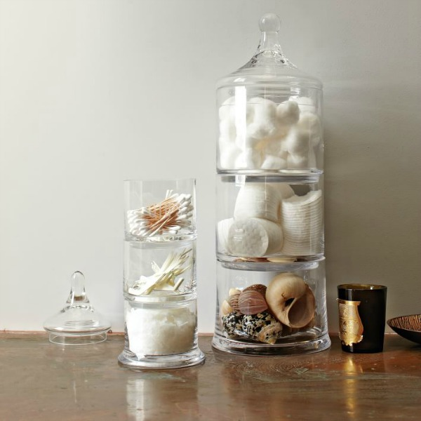 West Elm. Decorating With Apothecary Jars   Driven by Decor