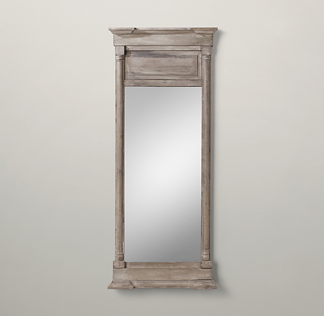 Restoration Hardware's Trumeau Mirror