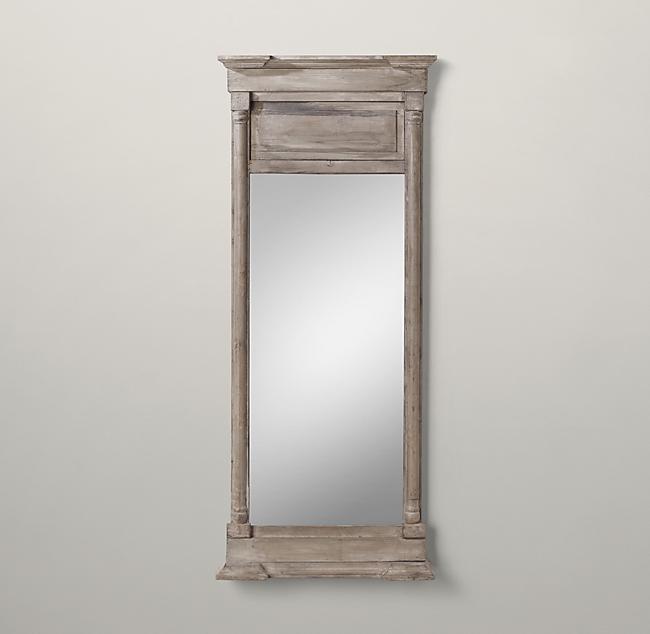 Restoration Hardware S Trumeau Mirror