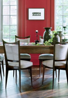 Red-Dining-Room-Elle-Decor