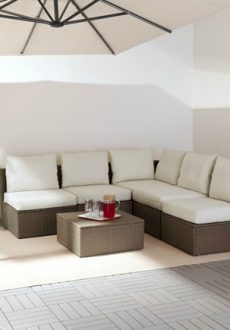 Shopping for Inexpensive Outdoor Sectionals