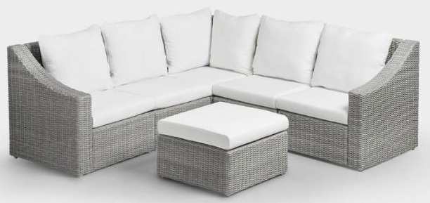An attractive, inexpensive outdoor sectional