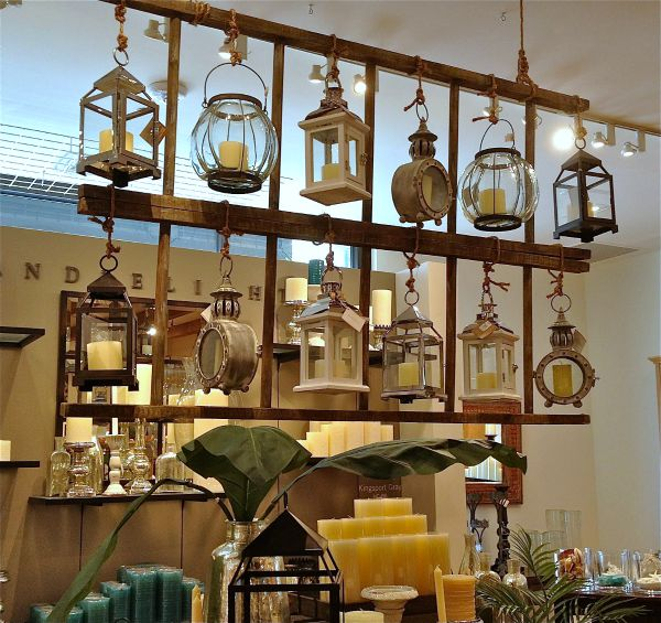 Pottery Barn Hanging Lanterns