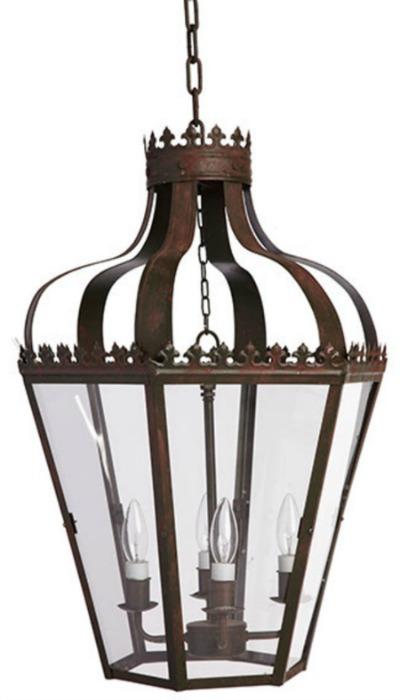 Gorgeous, high-end looking hanging lantern pendant