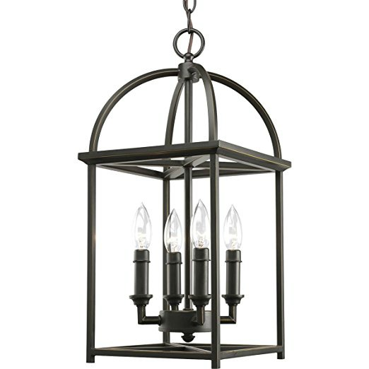 An Inexpensive Bronze Lantern Pendant That Would Look Beautiful In A Kitchen Or Foyer