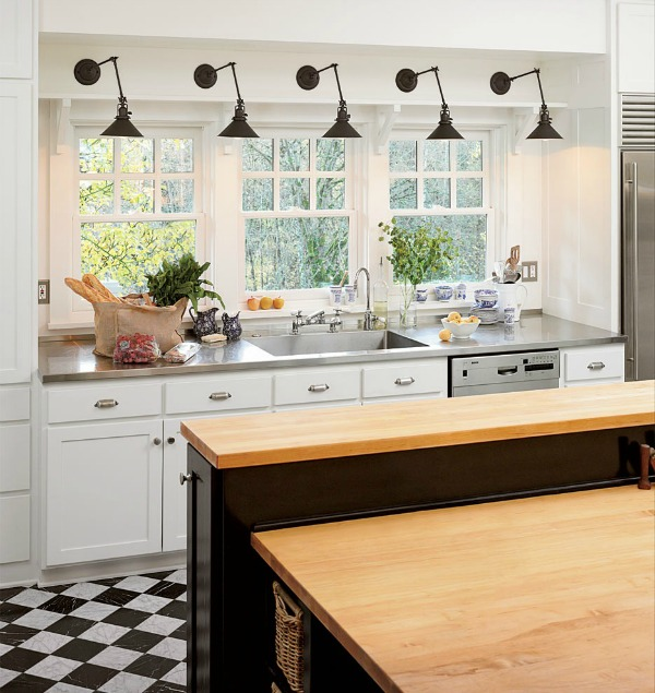 Wall Sconces In The Kitchen : Using Swing-arm Sconces in Your Home Driven by Decor