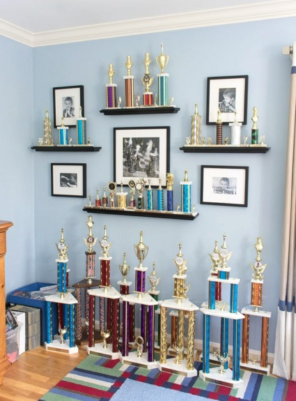 Trophy and Medal Awards Display Ideas