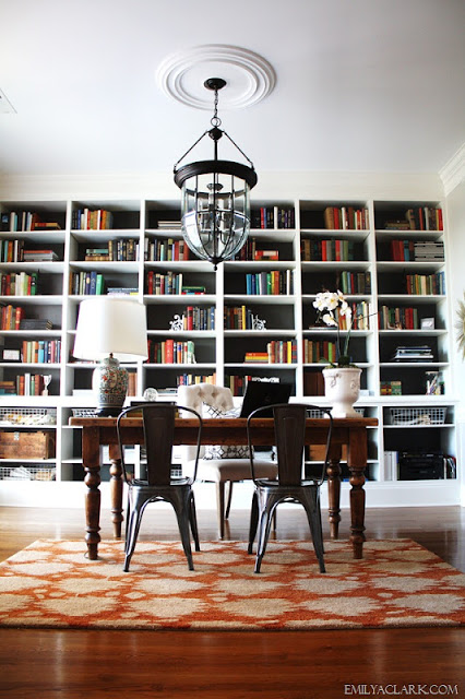 Bookcases for a Home Office: Traditional White vs. Industrial