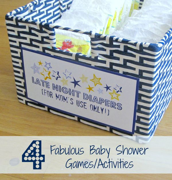four fabulous baby shower games  activities  driven by decor, Baby shower