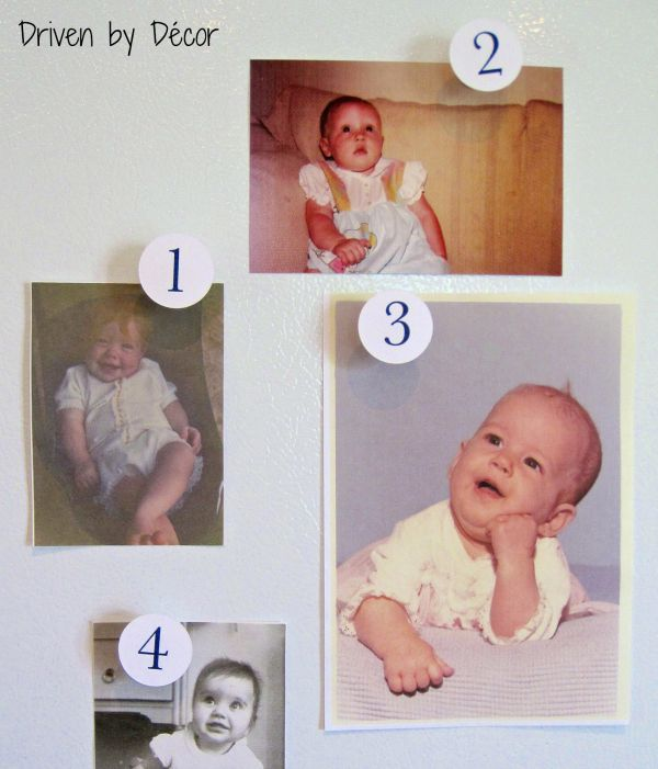 Four Fabulous Baby Shower Games Activities Driven By Decor