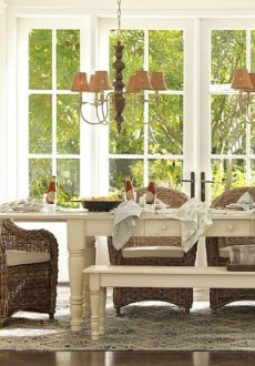 My Favorite Kubu Rattan Dining Chairs