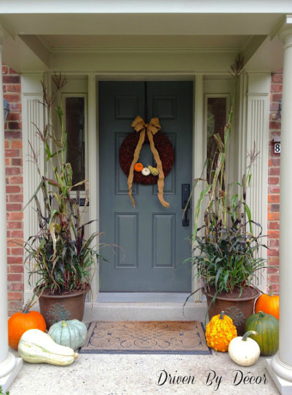 Decorating My Front Porch for Fall