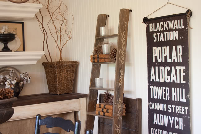 25 Unique Ways To Decorate With Vintage Ladders Driven