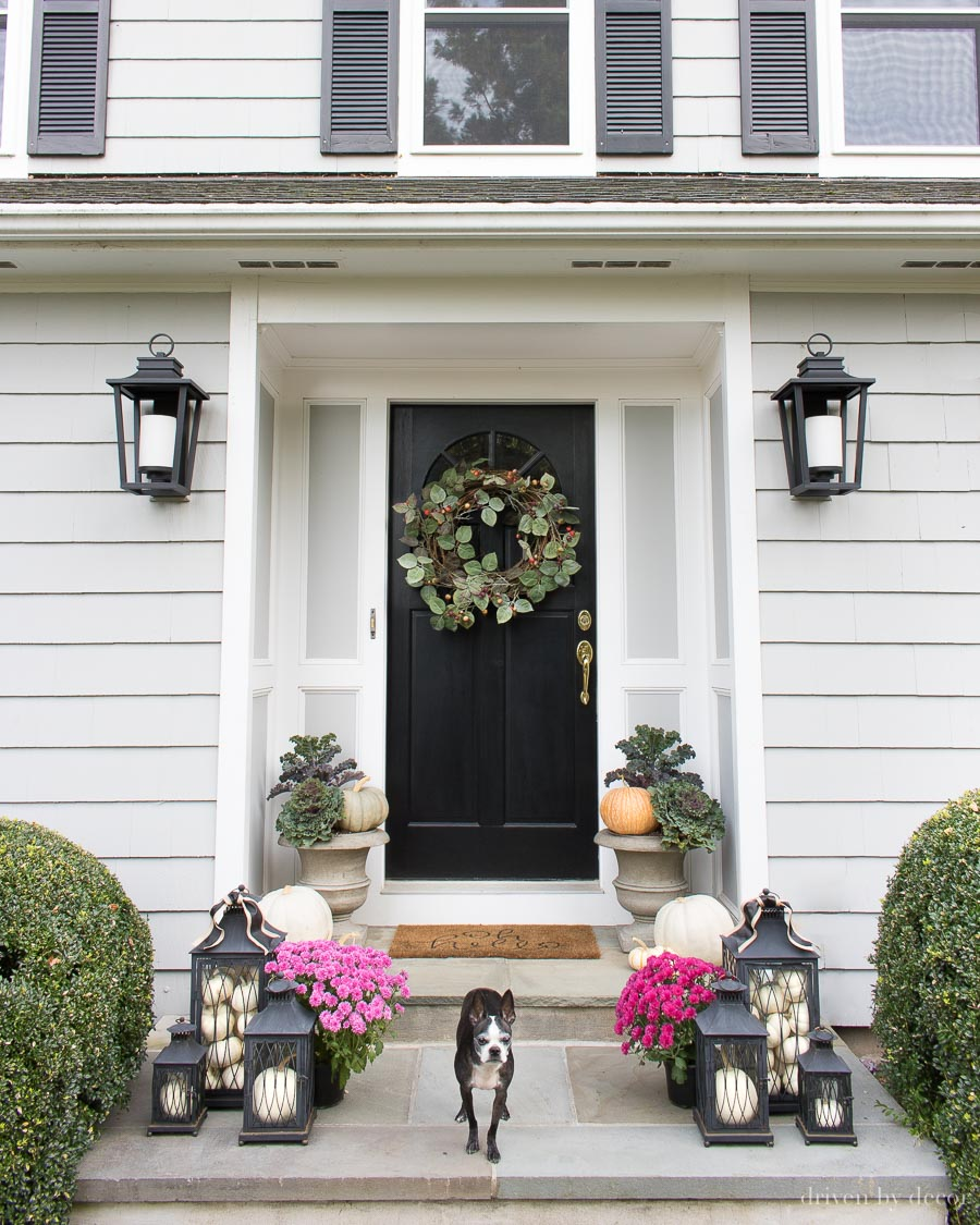 Favorite Fall Decorating Finds for Your Porch & Front Door ...