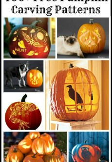 Free Pumpkin Carving Patterns & Templates