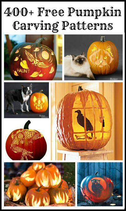 Free pumpkin carving patterns templates driven by decor tons of free pumpkin carving templates maxwellsz