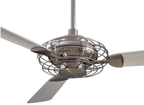 Acero fan without light - Ten Great Ceiling Fans Driven By Decor