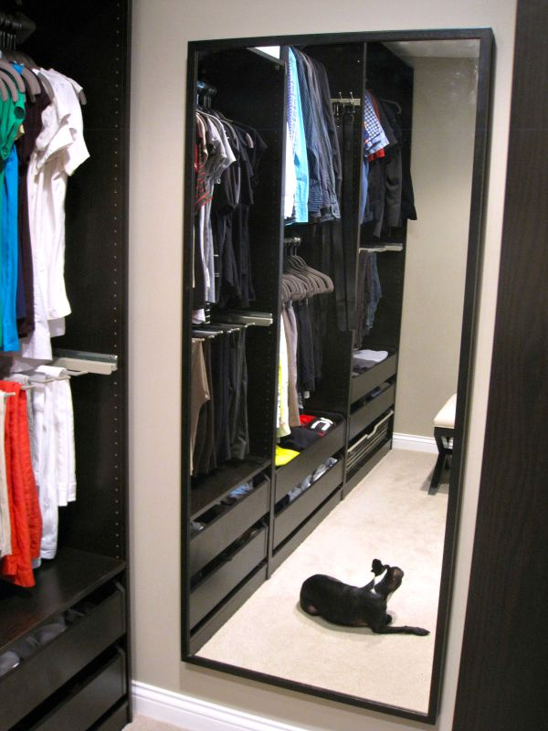 ikea hemnes full length mirror - Ikea Closet Design Ideas