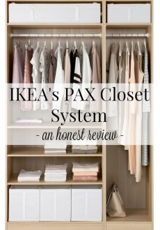 IKEA's PAX Closet Systems: An Honest Review