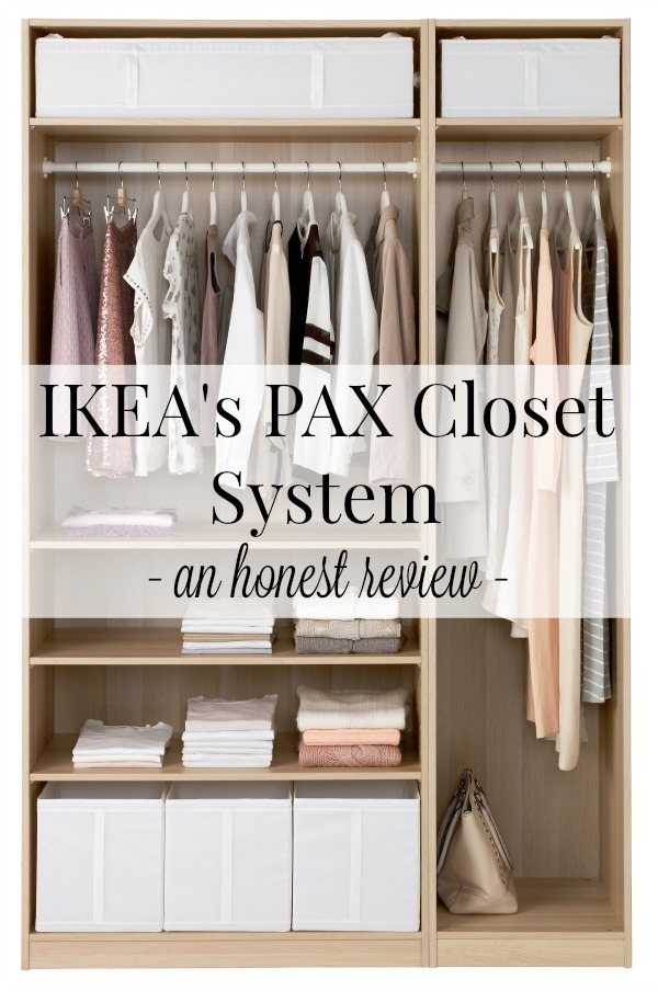 IKEA's PAX closet system - an honest review