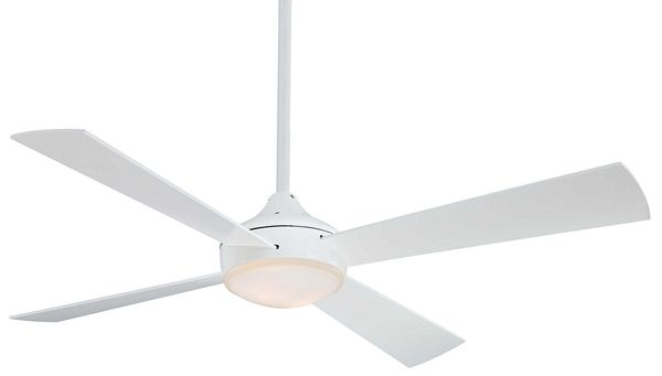 Minka Aire Aluma Fan in white