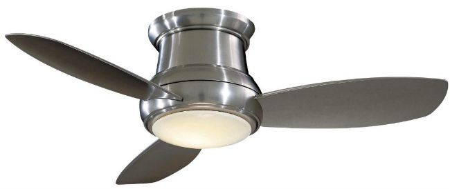 Minka Aire Concept II Flush Mount Ceiling Fan
