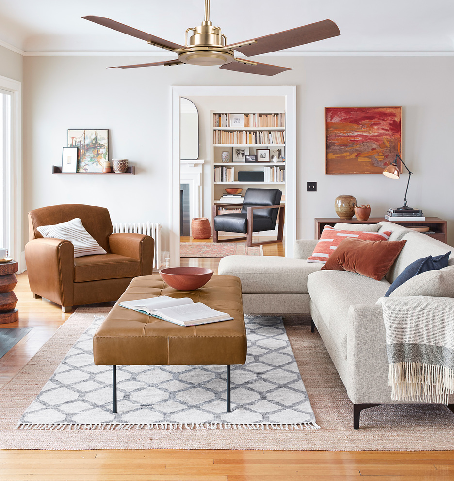 Ten Stylish Ceiling Fans (It's Time To Kick Your Dated