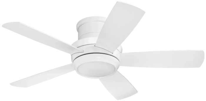 A flush mount hugger ceiling fan that's a good choice for your home!
