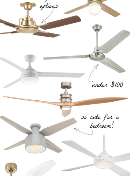 Ten Stylish Ceiling Fans (It's Time to Kick Your Dated Ones to the Curb)!
