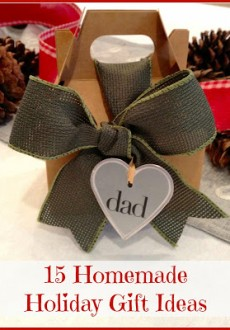 Homemade Christmas Gifts Ideas You'll Love
