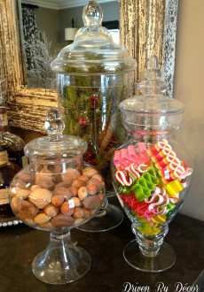 Holiday Apothecary Jars
