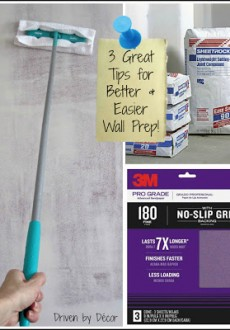 Wall Prep Before Painting: A Few Tips & Tricks