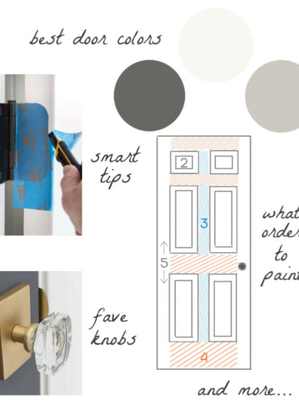 How to Paint a Door: My Best Tips for Painting Interior Doors!