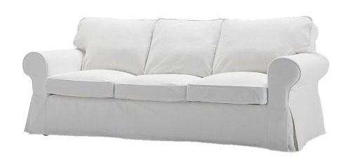 IKEA EKTORP sofa in blekinge white