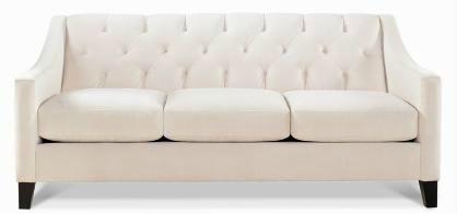 Macy's Choloe Velvet Metro Sofa
