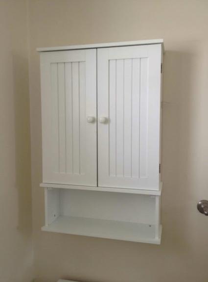 Annie Sloan Chalk Paint Bathroom Cabinet Makeover
