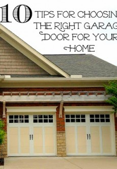 Garage Door Replacement: 10 Tips for Making the Right Choice