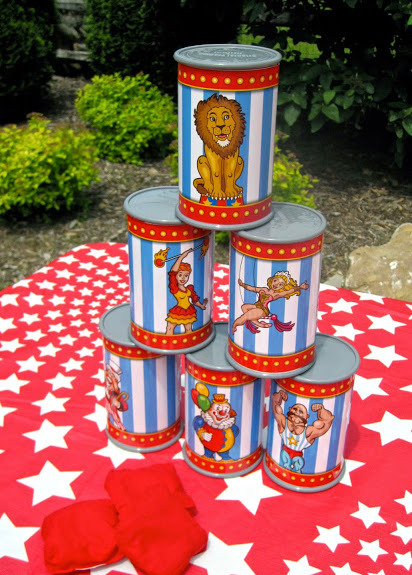 A Carnival / Circus Themed Birthday Party