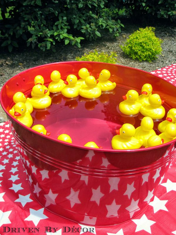 Carnival circus games - Duck pond matching game