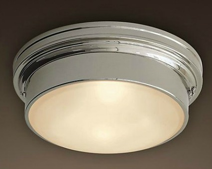 Restoration Hardware Turner Flushmount Ceiling Light