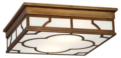 Shades of Light Quatrefoil Modern Ceiling Light