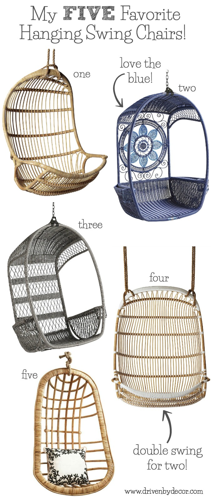 Five Great Choices For Hanging Swing Chairs For Your Bedroom, Patio, Or  Even Your