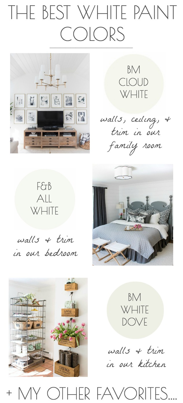 The Best White Paint Colors My Tried True Favorites Driven By Decor,Modern Cottage Bedroom Decor