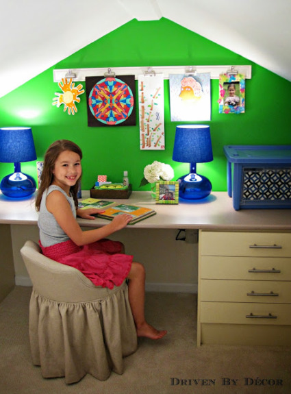 Kids Craft Room Makeover