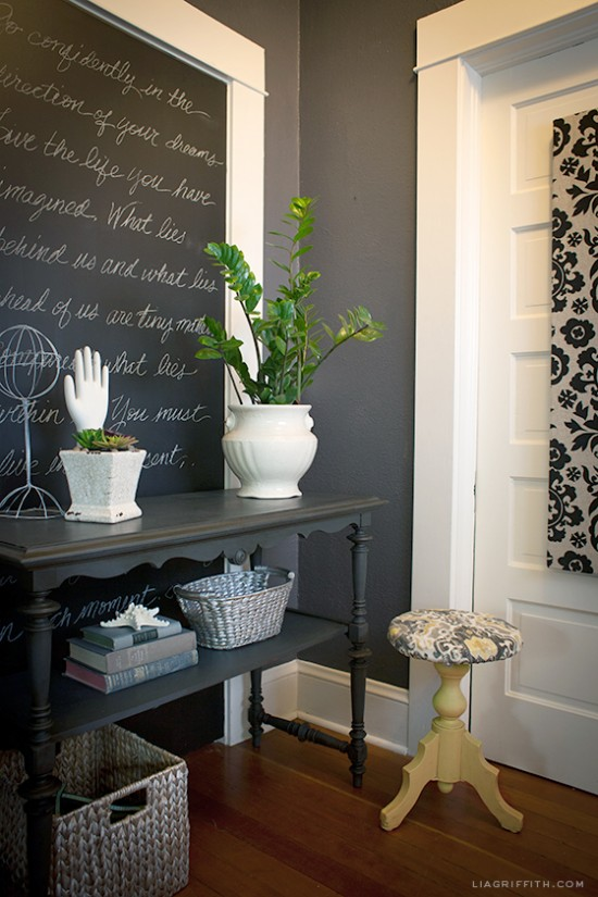 Most Popular Foyer Paint Colors : Black and charcoal gray paint colors for our home office