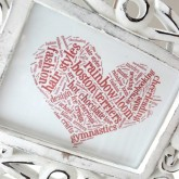 Create your own word cloud art!