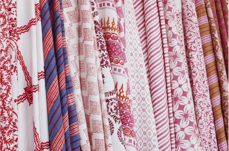 Block Printed Fabrics: John Robshaw & More