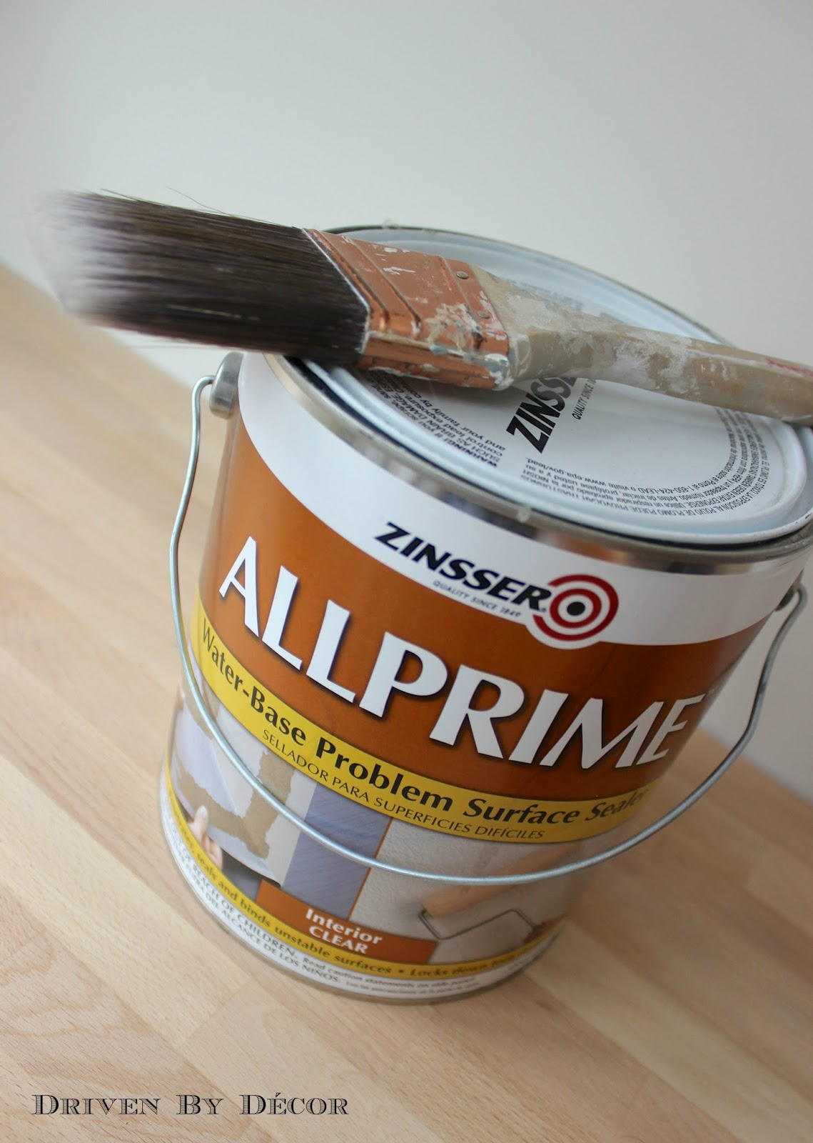 If you're painting over wallpaper glue - use this first!!