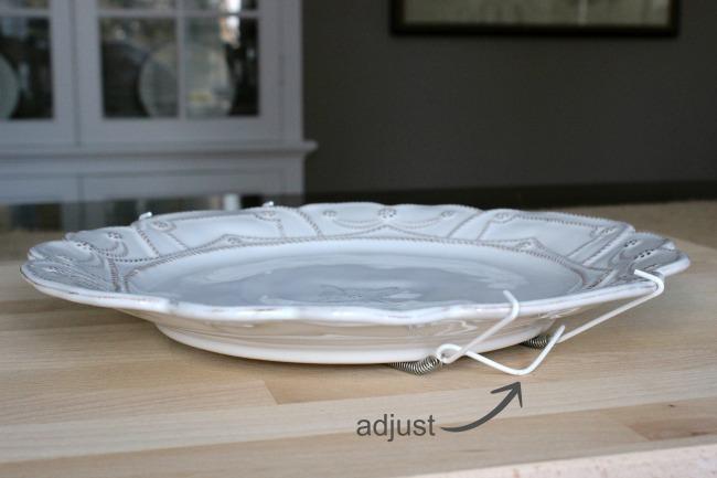 Bending plate hanger