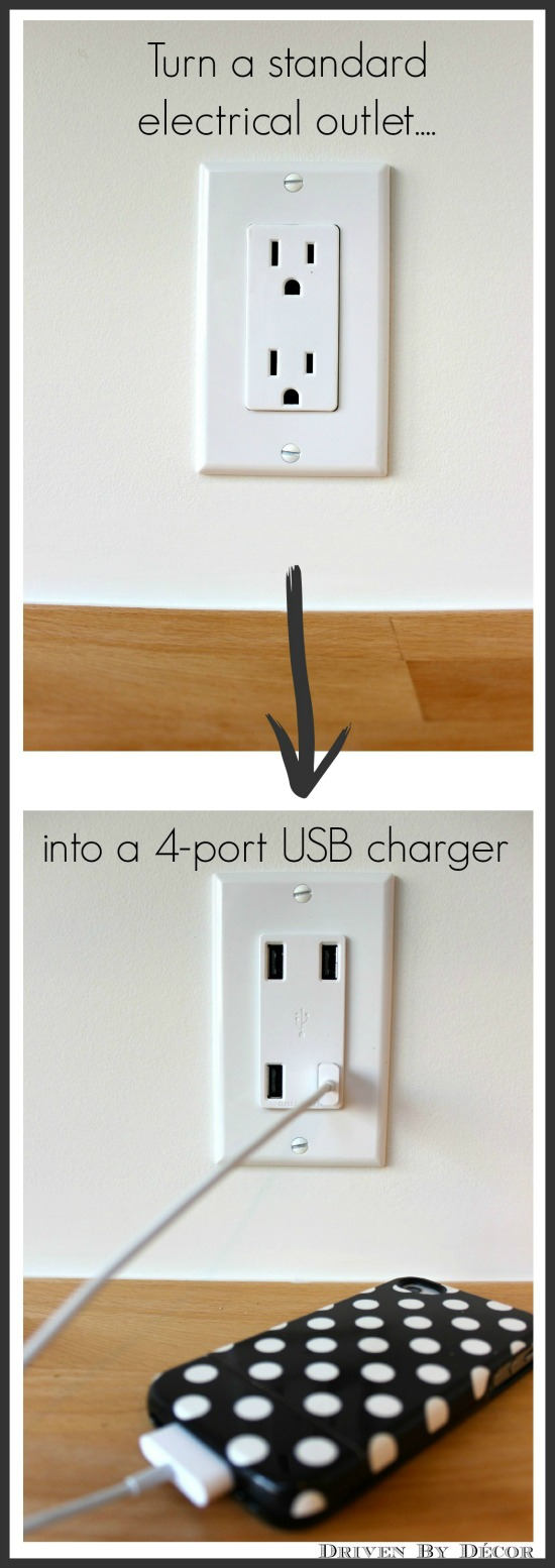 Family Charging Station diy family charging station | drivendecor